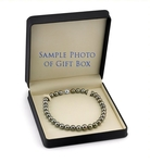 10-11mm Eggplant Tahitian South Sea Pearl Necklace - AAAA Quality - Secondary Image
