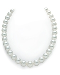 11-13mm White South Sea Pearl Necklace - AAAA Quality
