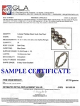 11-14mm Tahitian South Sea Pearl Necklace - AAAA Quality - Fourth Image