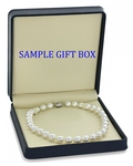 12-15mm White South Sea Pearl Necklace - VENUS CERTIFIED AAAA Quality - Fourth Image