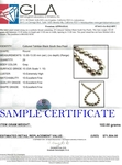 13-15mm Tahitian South Sea Pearl Necklace - AAAA Quality - Third Image