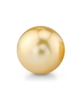 13mm Golden South Sea Loose Pearl