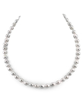 8.0-8.5mm Japanese Akoya Baroque Pearl Necklace