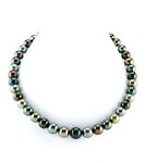 8-10mm Tahitian South Sea Multicolor Pearl Necklace - AAAA Quality