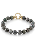 8-9mm Tahitian South Sea Pearl Bracelet - AAAA Quality - Secondary Image