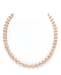 8-9mm Peach Freshwater Pearl Necklace