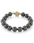 9-10mm Tahitian South Sea Pearl Bracelet - AAAA Quality - Secondary Image