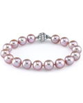 9-10mm Pink Freshwater Pearl Bracelet - AAA Quality