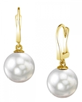 South Sea Pearl Classic Elegance Earrings - Secondary Image