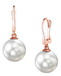 South Sea Pearl Classic Elegance Earrings - Third Image