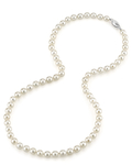 5.5-6.0mm Japanese Akoya White Pearl Necklace- AAA Quality