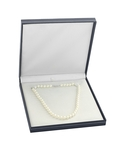 Japanese Akoya White Pearl Double Strand Necklace - Fourth Image