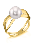 Akoya Pearl Lana Ring - Model Image