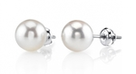 8.5-9.0mm Hanadama Akoya Pearl Stud Earrings - Secondary Image