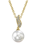 South Sea Pearl & Diamond Zoey Pendant - Model Image