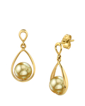 Golden South Sea Pearl Jess Earrings