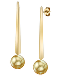 Golden South Sea Pearl Lina Earrings