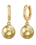 Golden South Sea Pearl Mary Earrings