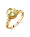 Golden South Sea Pearl Terrie Ring
