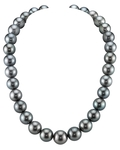 13-15mm Tahitian South Sea Pearl Necklace - AAAA Quality