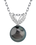 Tahitian South Sea Pearl & Diamond Belissima Pendant