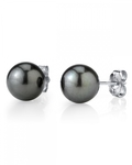 13mm Tahitian South Sea Pearl Stud Earrings- Various Colors