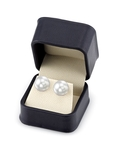 14mm South Sea Pearl Stud Earrings- Choose Your Quality - Secondary Image