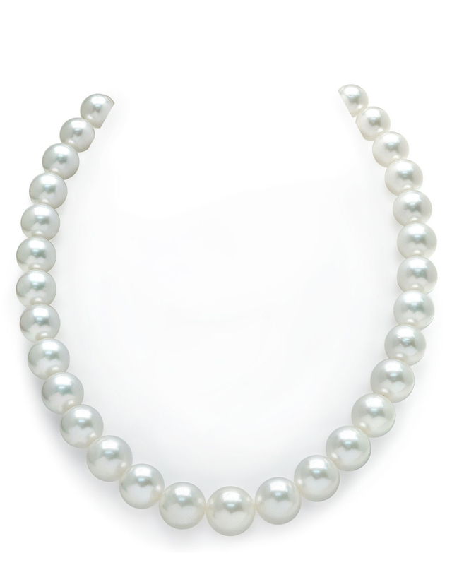 11-14mm White South Sea Pearl Necklace - AAA Quality