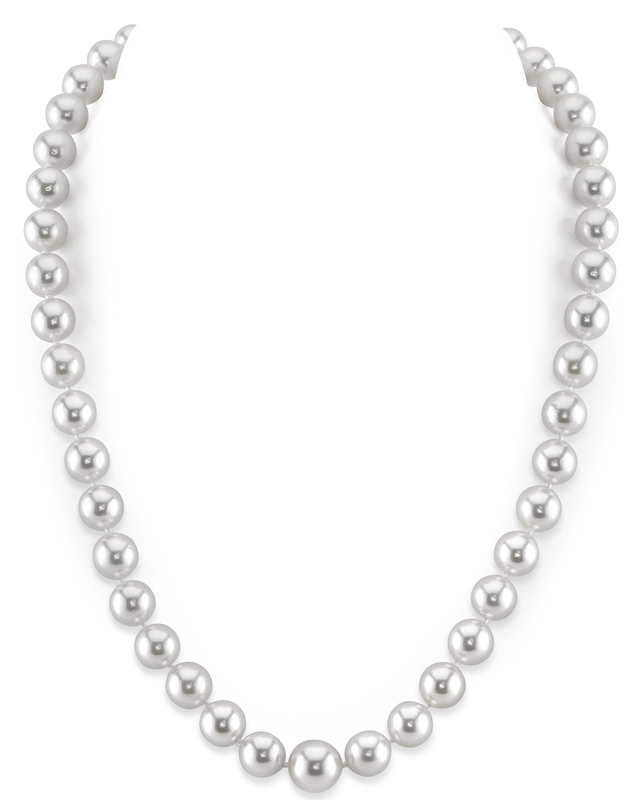 8-10mm White South Sea Pearl Necklace - AAA Quality