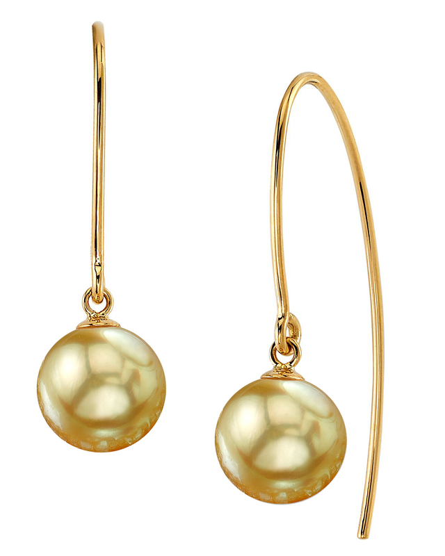 Golden South Sea Pearl Bonnie Earrings