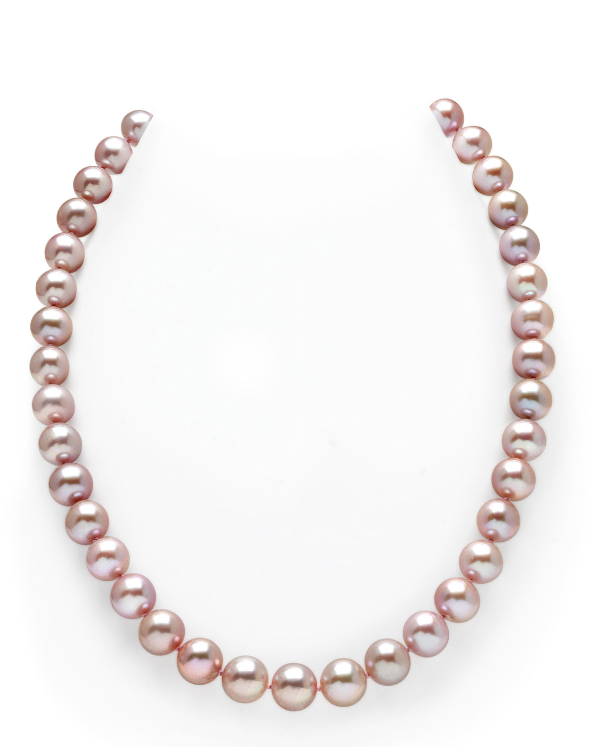 10-11mm Pink Freshwater Pearl Necklace - AAAA Quality