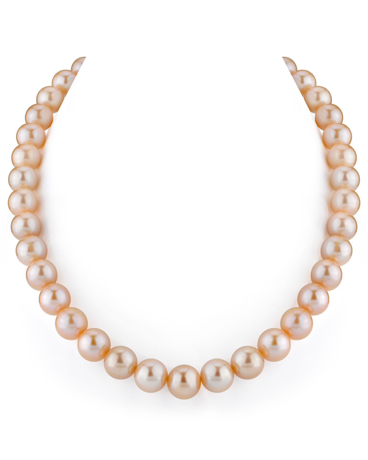 12-13mm Peach Freshwater Pearl Necklace