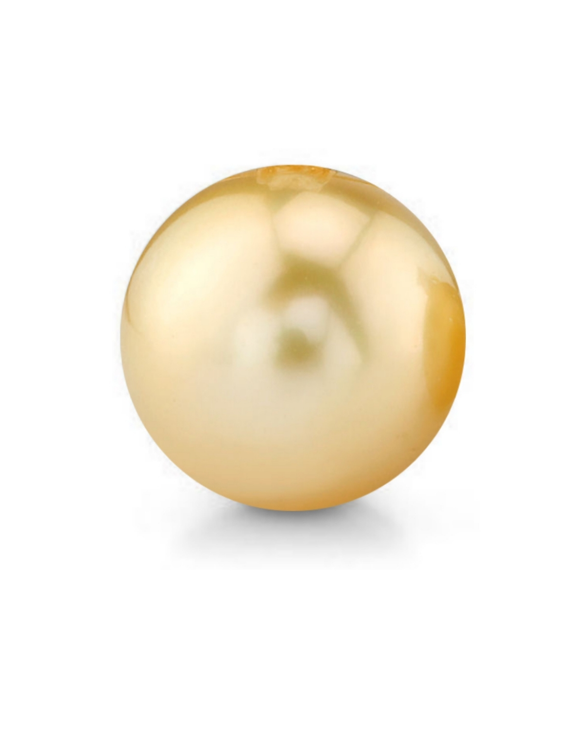 16mm Golden South Sea Loose Pearl