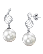 South Sea Pearl & Diamond Jenny Earrings