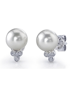 Akoya Pearl & Diamond Kimberly Earrings