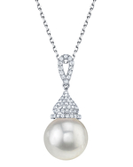 South Sea Pearl & Diamond Amanda Pendant