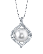 South Sea Pearl & Diamond Clara Pendant