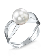 White South Sea Pearl Lana Ring