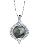 Tahitian South Sea Pearl & Diamond Clara Pendant