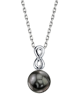 Tahitian South Sea Pearl & Diamond Rachel Pendant