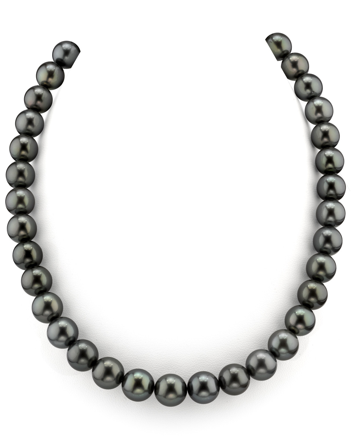 10-11mm Tahitian South Sea Pearl Necklace - AAAA Quality