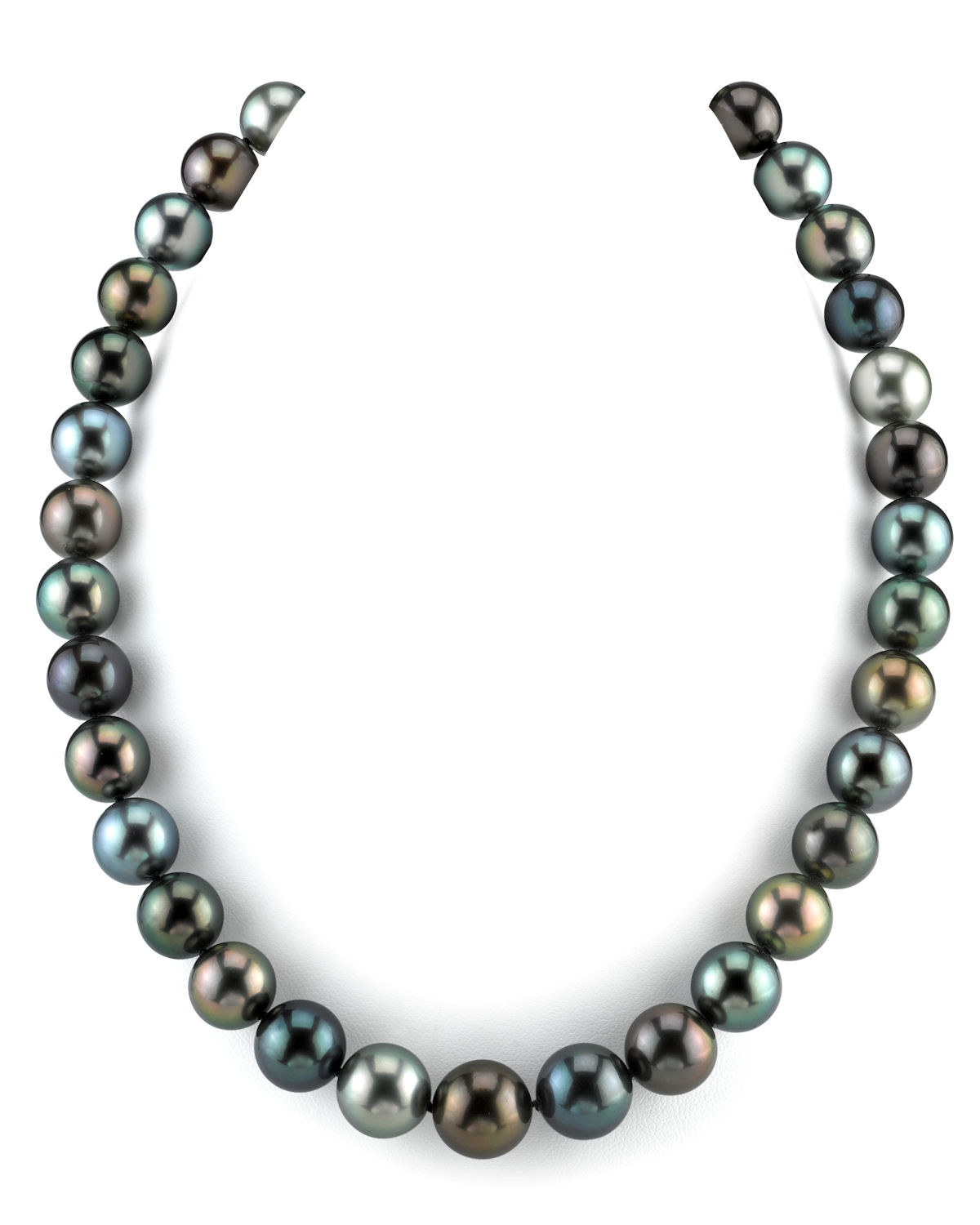 11-13mm Tahitian South Sea Pearl Multicolor Necklace - AAAA Quality