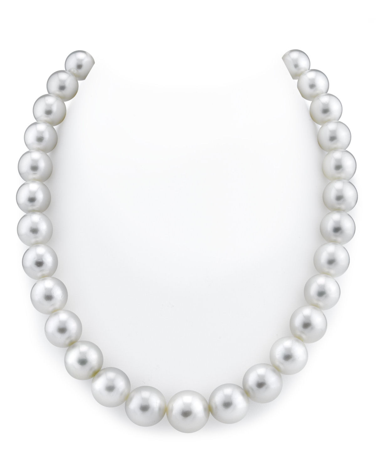 11-14mm White South Sea Pearl Necklace - AAAA Quality