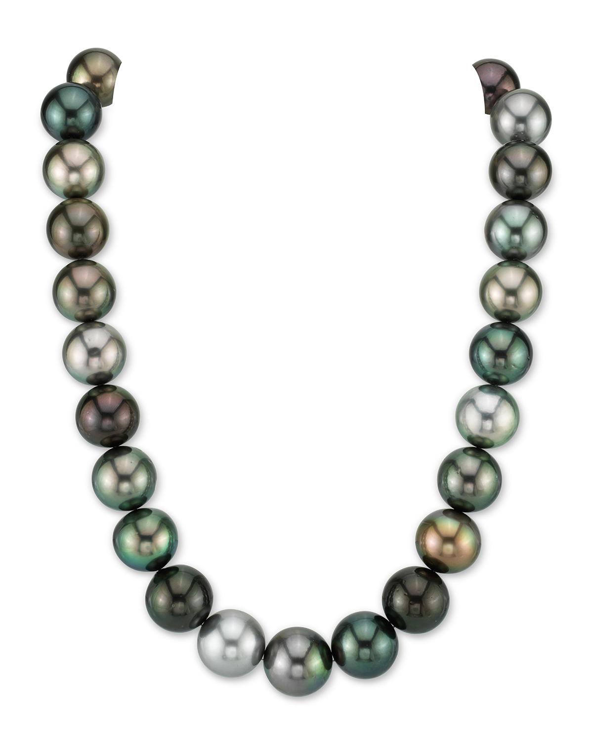 15-16mm Tahitian South Sea Multicolor Pearl Necklace