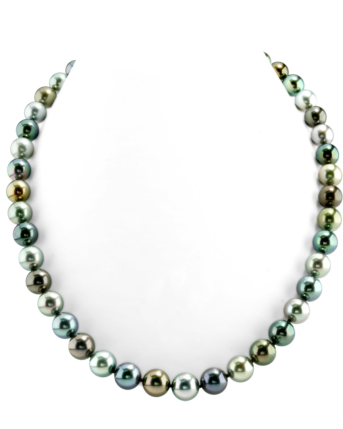 8-10mm Tahitian South Sea Multicolor Pearl Necklace