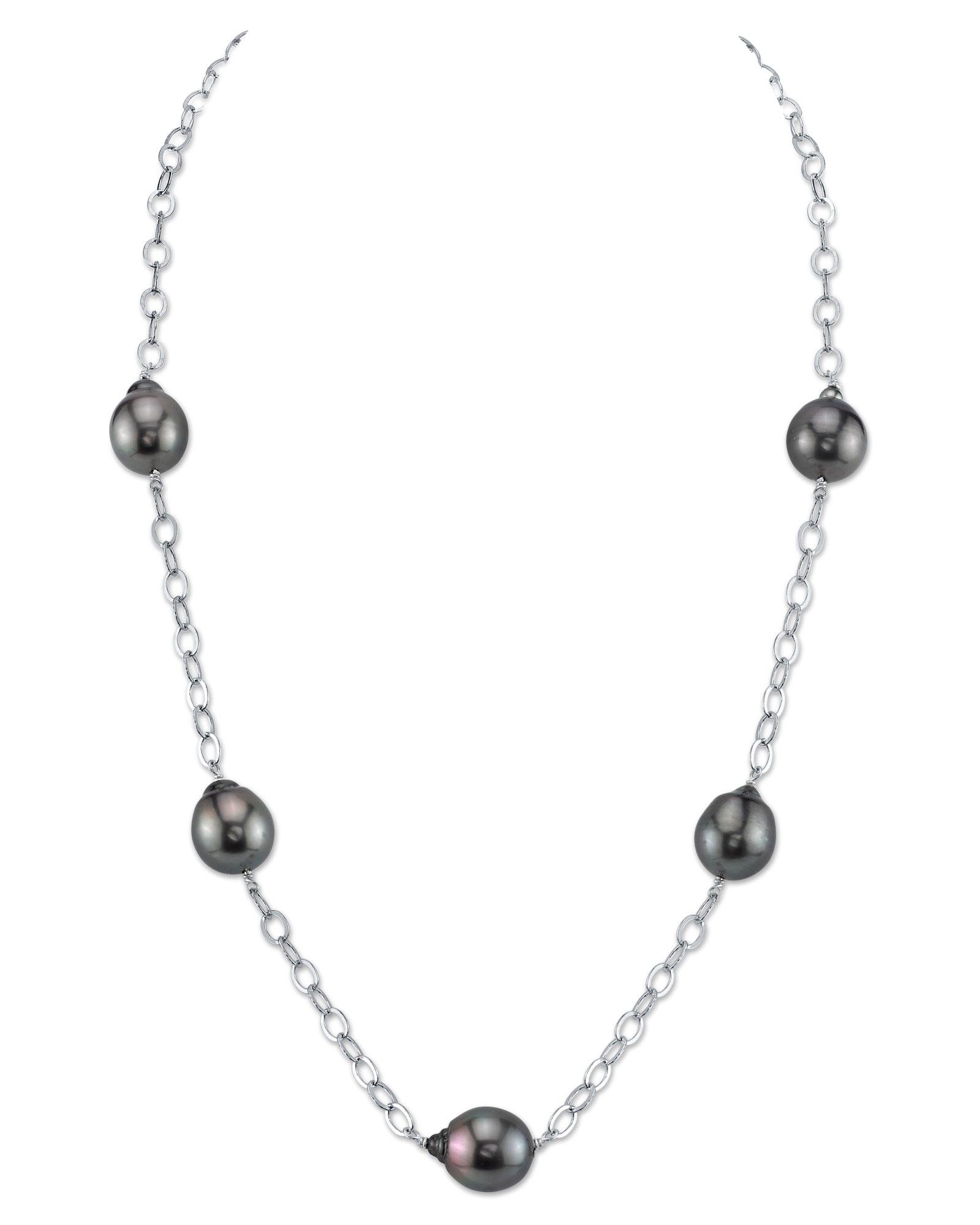 Tahitian South Sea Baroque Pearl Tincup Necklace