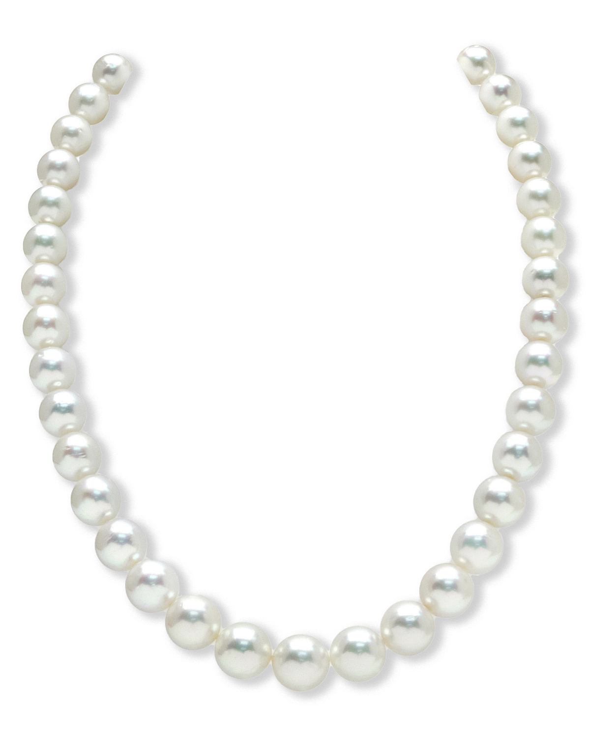 9-11mm White South Sea Pearl Necklace
