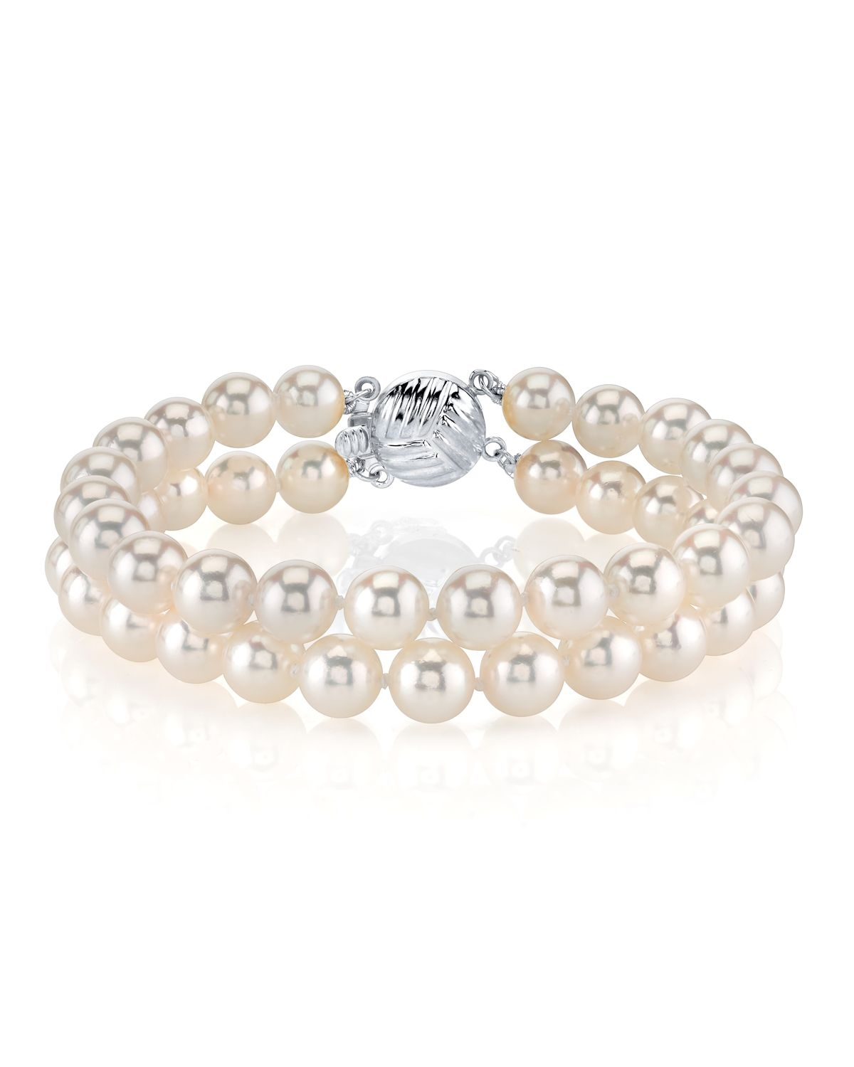 Japanese Akoya Double Pearl Bracelet - Various Sizes