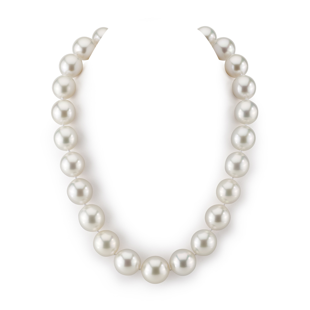 15-18mm White South Sea Pearl Necklace - AAAA Quality